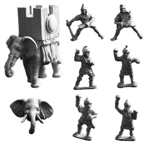 ANC20225 - Carthaginian Elephant with War Tower (A) - Click Image to Close
