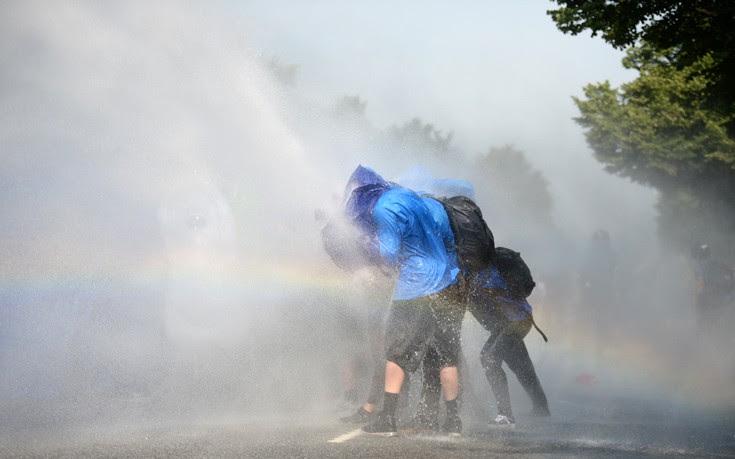 «Άρωμα» από τα Εξάρχεια στα επεισόδια στο Αμβούργο για τη G20