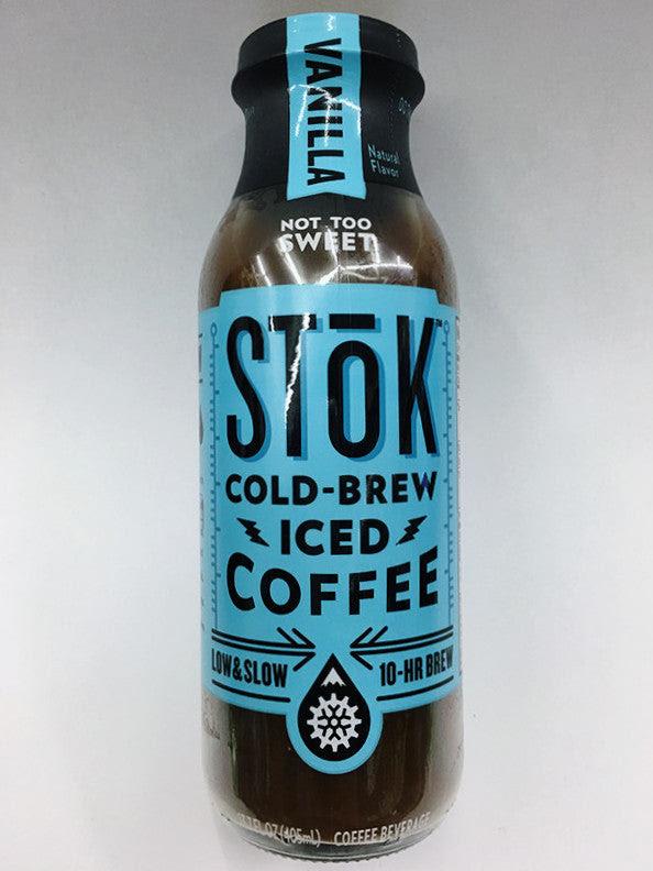 Stok Vanilla Cold Brew Iced Coffee Soda Pop Shop