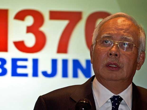 Primeiro-ministro da Malásia, Najib Razak. (Foto: Manan Vatsyayana / AFP Photo)