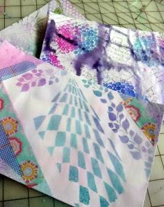 Basic 5x7 white envelope mail art