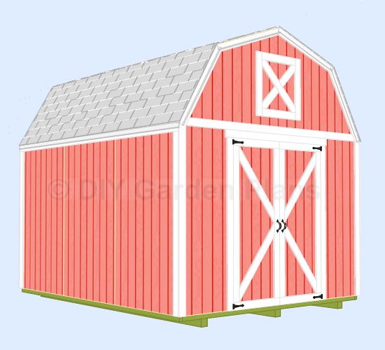 5 x 8 storage shed plans la sheds build for Garden shed 5 x 8
