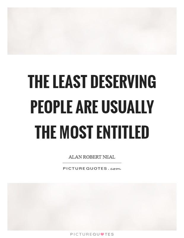 Deserving Quotes