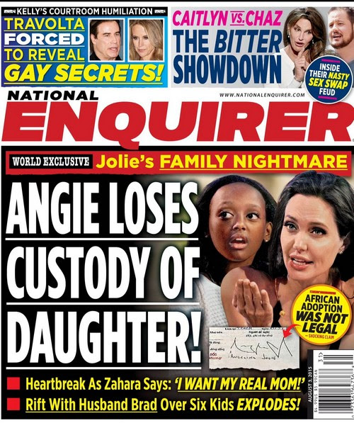 Angelina Jolie Losing Adopted Daughter Zahara To Birth Mother Could
