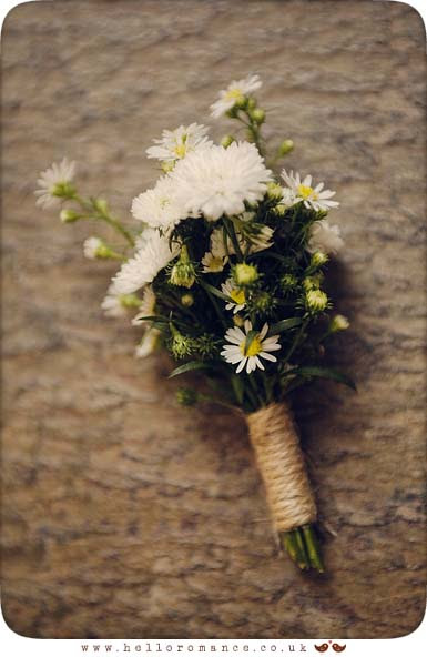 Vintage Buttonhole Suffolk - Hello Romance