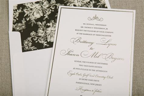 Press'd   Letterpress wedding invitation ideas from Bella