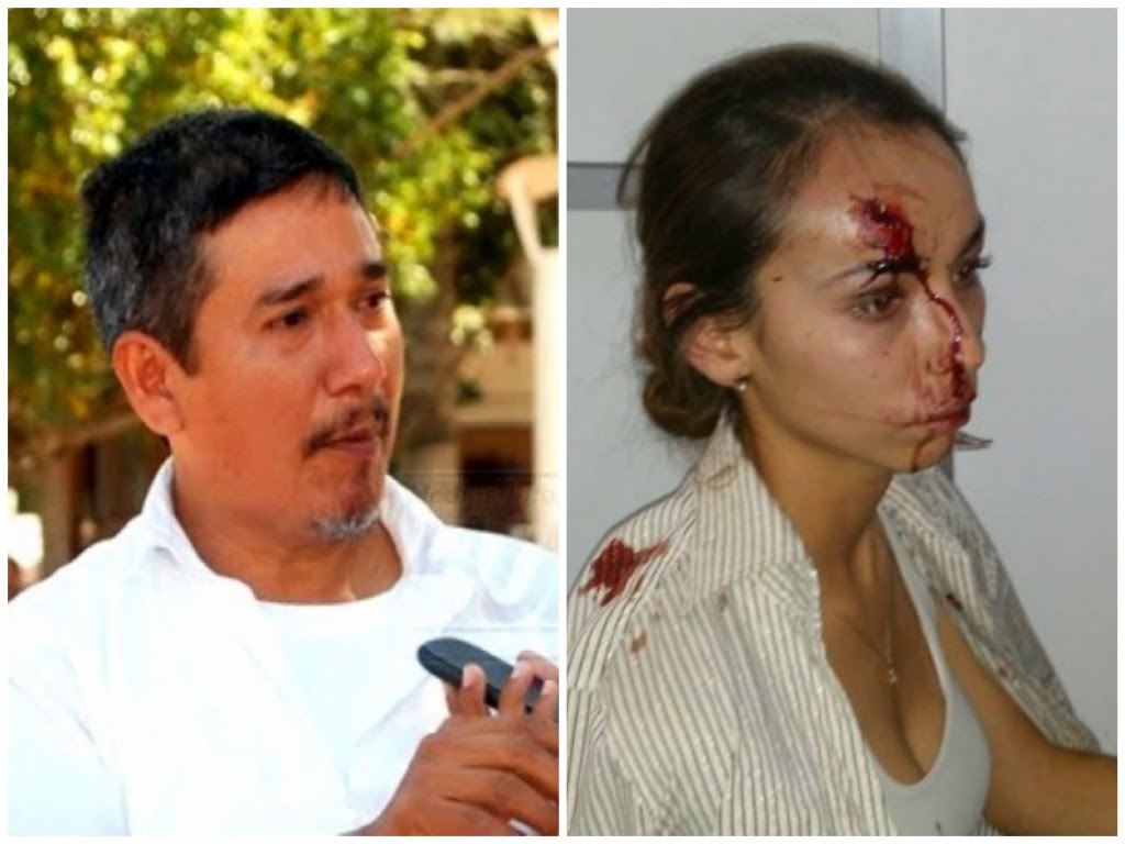 Moisés Sánchez asesinado en Veracruz y Karla Silva, golpeada en Guanajuato.