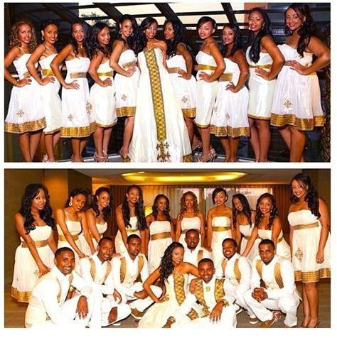Loving this traditional #Habesha #Wedding #Melse Photo