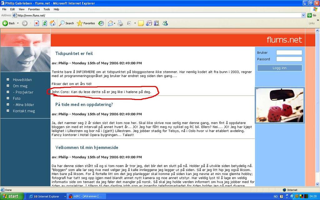 kødd fra wiki admin Flums