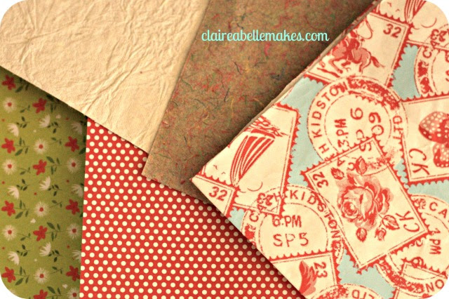 Paper assortment: claireabellemakes