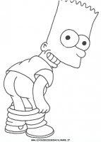 Disegni Da Colorare I Simpson Disegni Dei Personaggi Disney Pixar