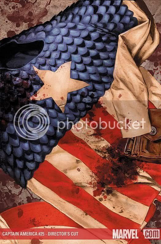 Captain America # 25 director's cut