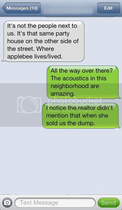 stupid realtor text