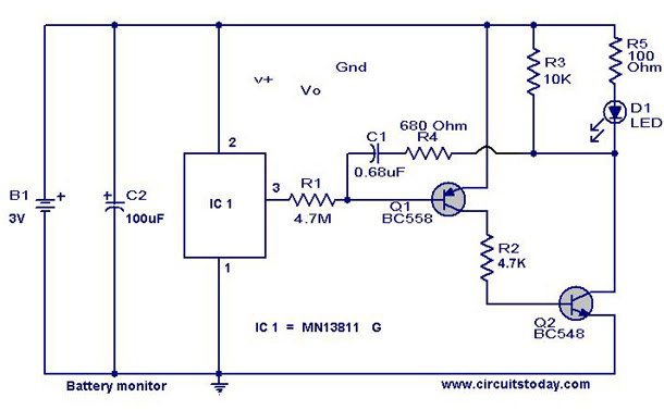 Electronic mosquito repeller Electronic Circuits and Diagram