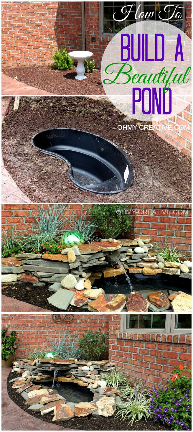 Impressive DIY Backyard Water Feature 655 x 1465 · 295 kB · jpeg