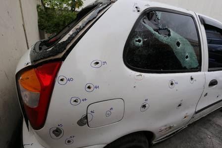 Quatro policiais militares estão presos pela morte dos cinco jovens