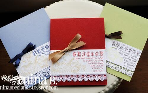 CAS Christmas Cards2