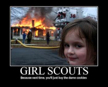 It is Girl Scout Cookie Season!