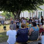 Saint-Romain-sous-Gourdon | L'au-revoir des enfants au directeur de l'école de Saint-Romain-sous-Gourdon (en images)