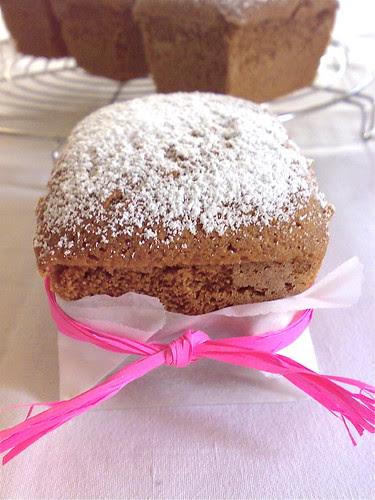 mini cakes choco-moka (gluten free)