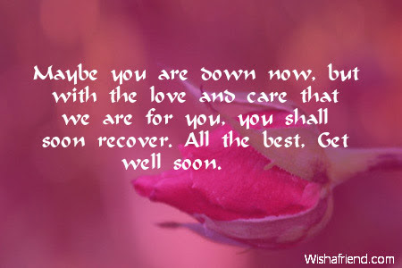 Get Well Soon Messages For Kids