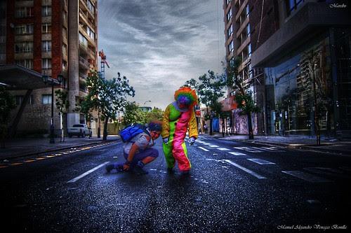 Zombie Walk 2013, Santiago de Chile. by Alejandro Bonilla