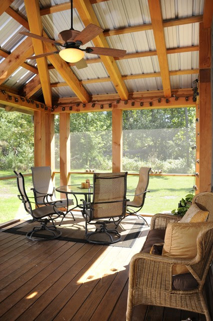 Timber Scree Porch - eclectic - porch - milwaukee - by JG ...