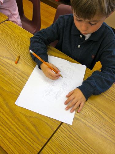 Drawing calveras