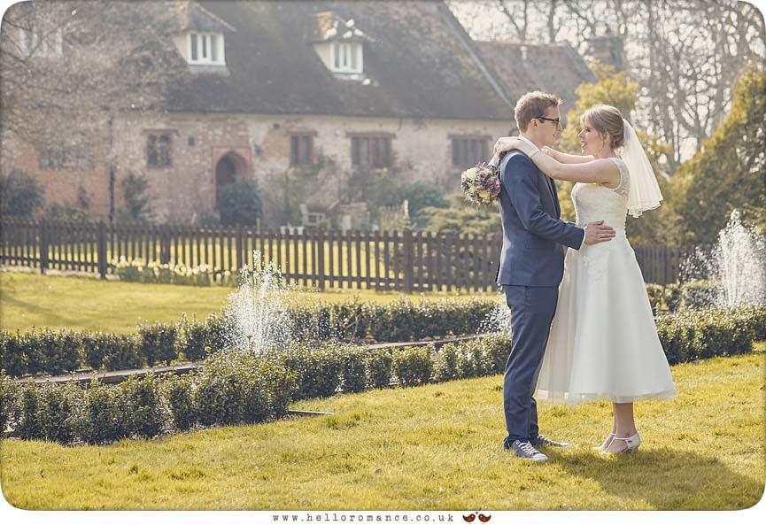 Atmospheric bride and groom photo - www.helloromance.co.uk