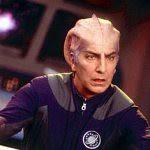 Sir Alexander Dane (Alan Rickman) as resident Vulcanic engineer Dr. Lazarus