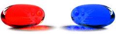 red pill - blue pill