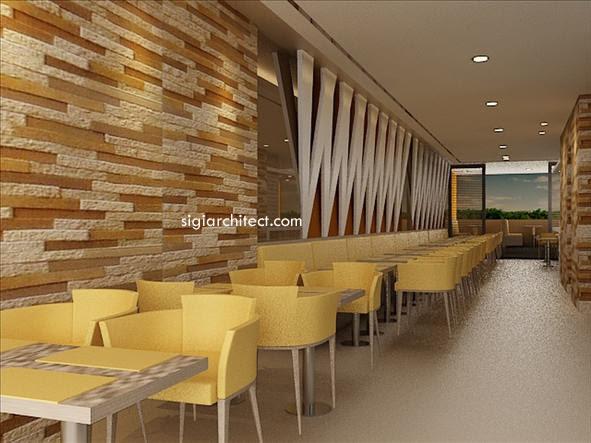 Desain  Cafe  Di Rumah Contoh O