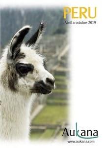 Viajes organizados a Perú catálogo 2019 Aukana
