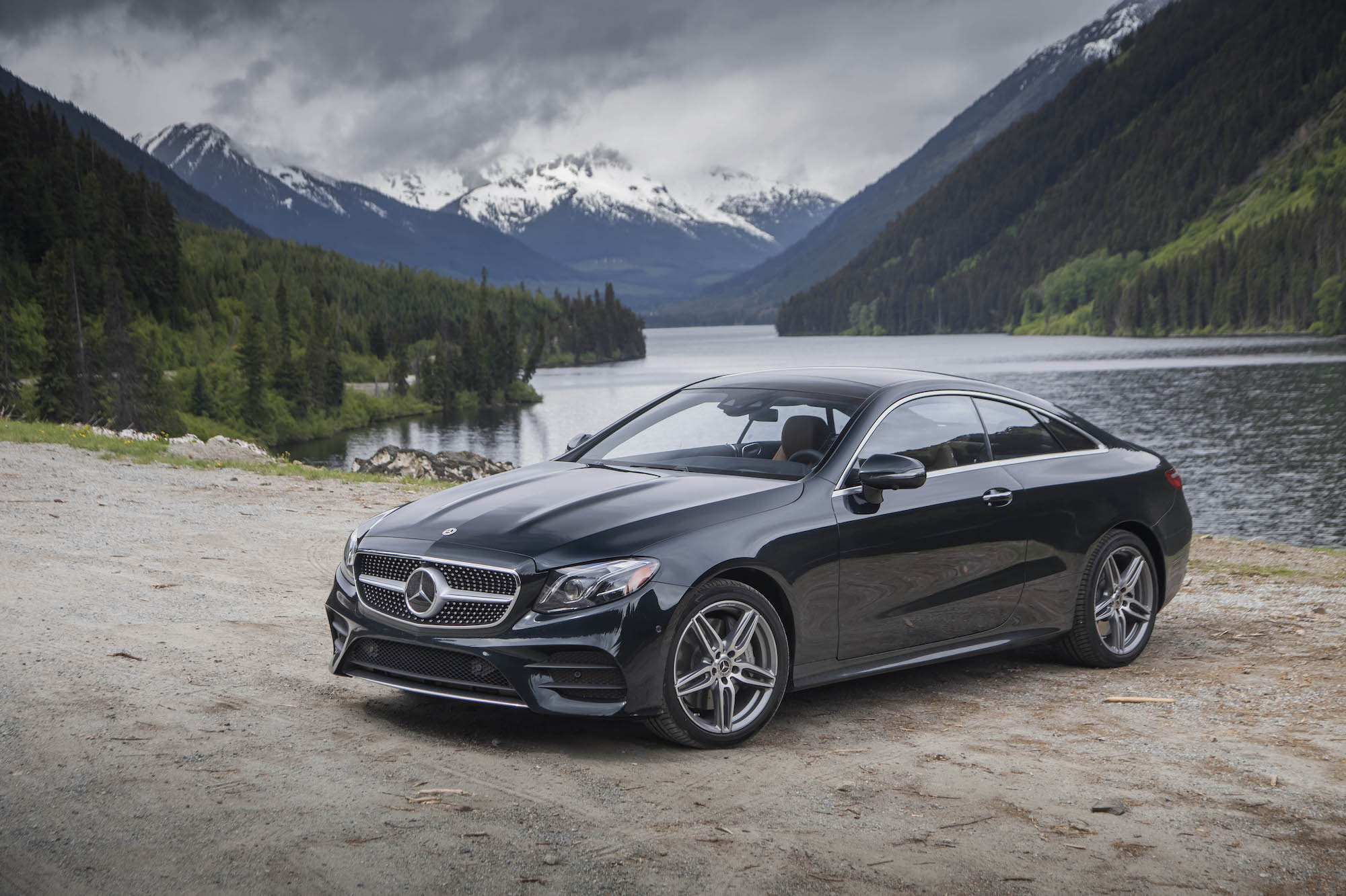 First Drive: 2018 Mercedes-Benz E 400 4MATIC Coupe ...