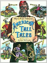 American Tall Tales by Mary Pope Osborne: Book Cover