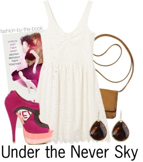 """undertheneverskyph:  fashion-by-the-book:  Under the Never Sky by Veronica Rossi find it here """"People can be cruelest to those they love.""""   WOW!  sooo cute!!!"""