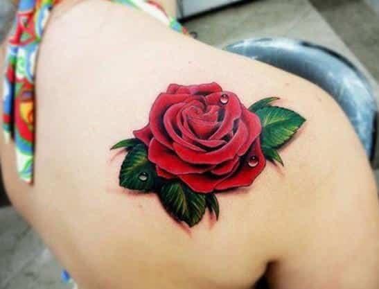 Rosas En La Pierna