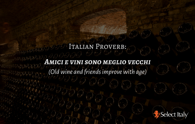 Top Italian Proverbs About Wine Espresso By Select Italy