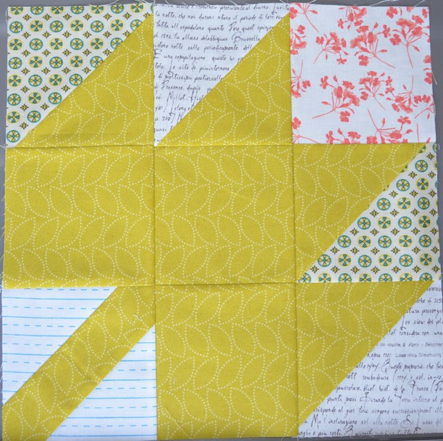 Modern Maples block for Marci