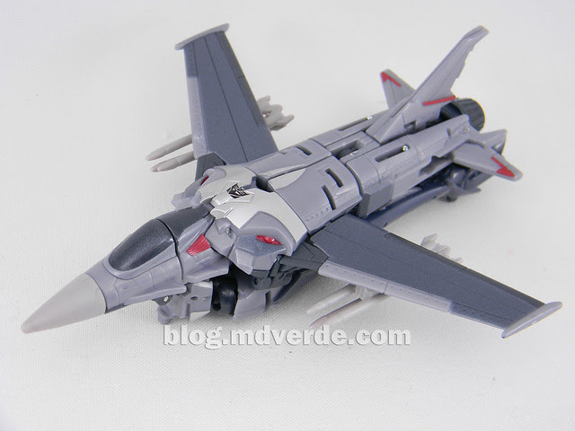 Transformers Starscream Deluxe - Prime First Edition - modo alterno