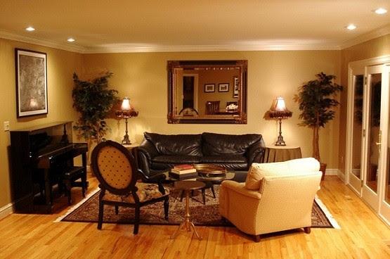 Elegant Modern Living Room Lighting | Home Interiors