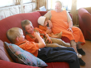 Still More Fellowshipping After the Orange Day Meal