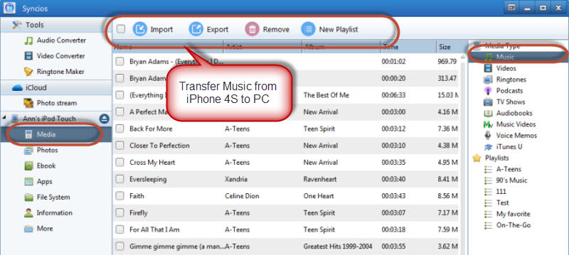 copy music from iphone to computer how to transfer from iphone 4s to computer for free 2974
