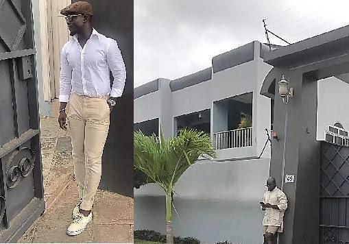 Ghanaian Retired Footballer, Stephen Appiah, Flaunts His Massive Mansion (Photos)