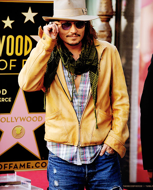 5 O estilo de Johnny Depp