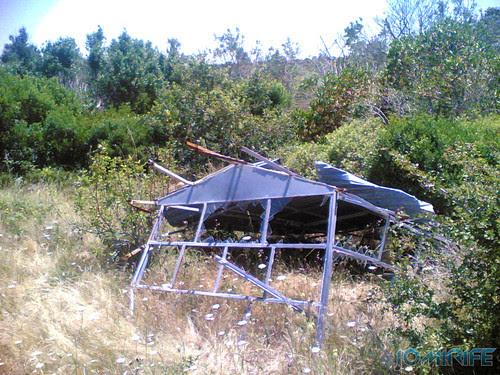 Torre de vigia da Serra Boa Viagem destruida (3)