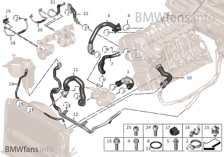 2008 Bmw 335i Coolant Hose Diagram Thxsiempre