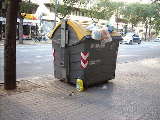 container de plastico en barcelona