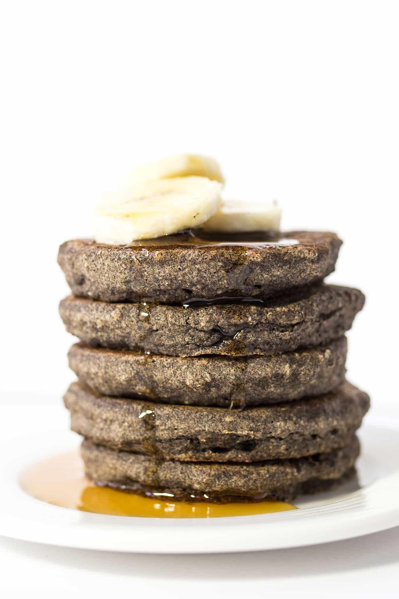 Banana Buckwheat Quinoa Pancakes Simply Quinoa