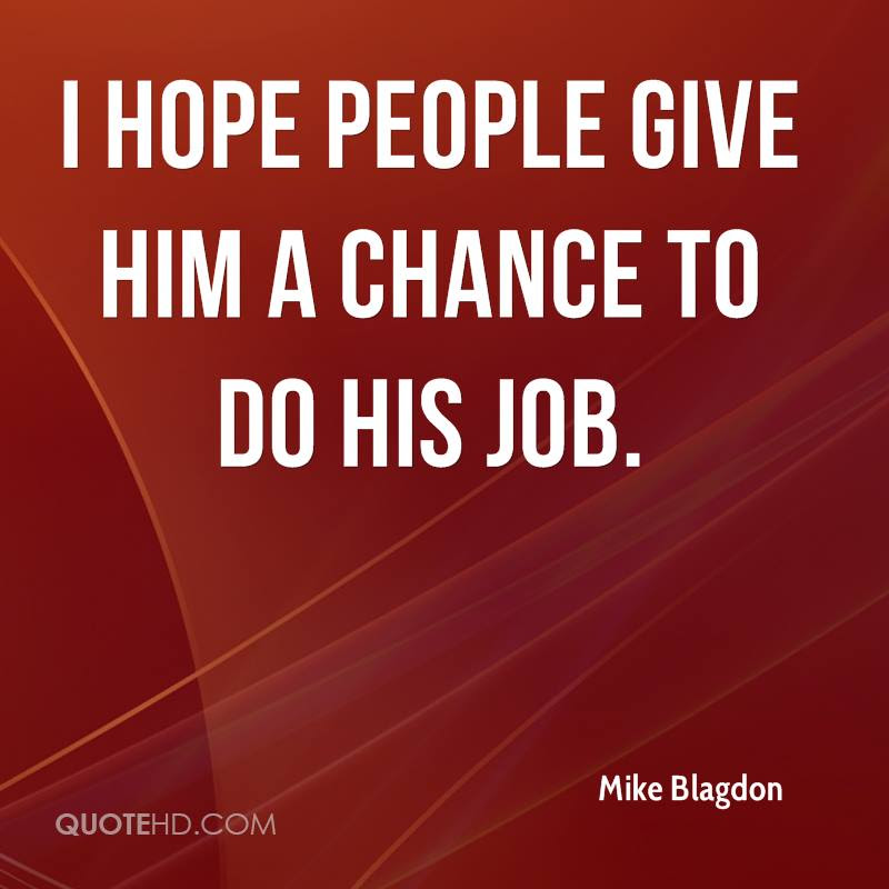 Mike Blagdon Quotes Quotehd